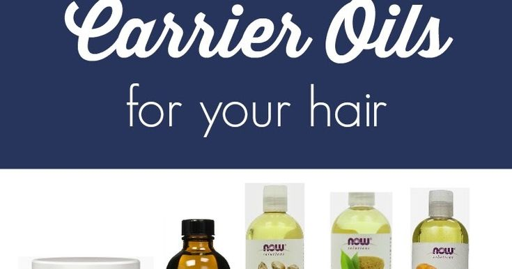 A list of carrier oils to use for softer hair and a healthier scalp.