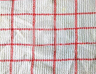 A shot of tablecloth texture.