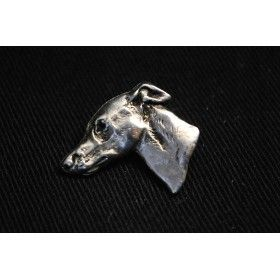 Pin covered thin layer of silver