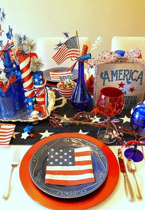 4th Of July Party Ideas Memorial Day 4th Of July Pinterest
