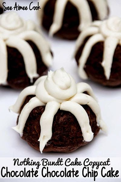 Chocolate Chocolate Chip Bundt Cake (Nothing Bundt Cake Copycat) (See Aimee…