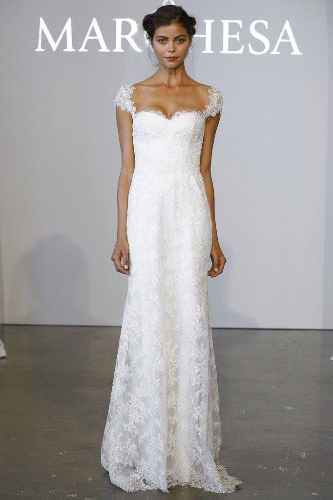 Robe de mariée bustier Marchesa