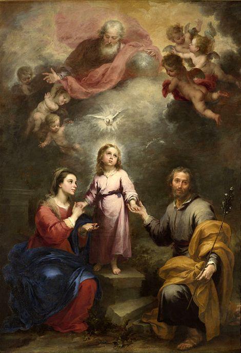 Οι δυο τριάδες (1675-82) Εθνική Πινακοθήκη Λονδίνου