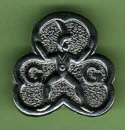 Brownie promise badge. I promise that I will do my best, to do my duty to god, to serve the queen and help other people and keep the brownie guide law - still remember it after all these years!!!