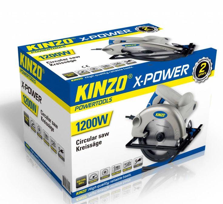 Kinzo X-power cirkelzaag 1200w #kinzo #gereedschap #xpower #cirkelzaag