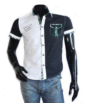 Стильная летняя мужская рубашка Zeroman