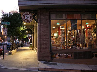 Malaprop S Bookstore Cafe  Haywood Street Asheville Nc