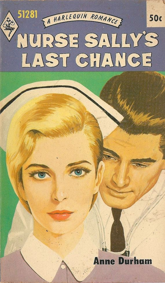 VINTAGE BOOK Nurse Sally's Last Chance A Harlequin by HazelCatkins, $20.00