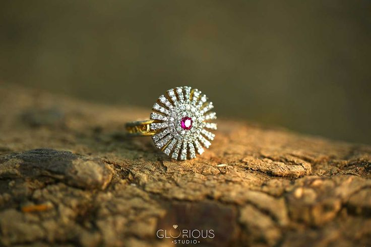 An elegant ring close up lying on wood with nature selective focus.  jewellery photography in #surat #diamondjewellery #jewellery #photography #india #surat #macrophotography #productshoot  #productphotography #naturephotography #outdoorjewelleryphotography  #advertisement #thegloriousstudio