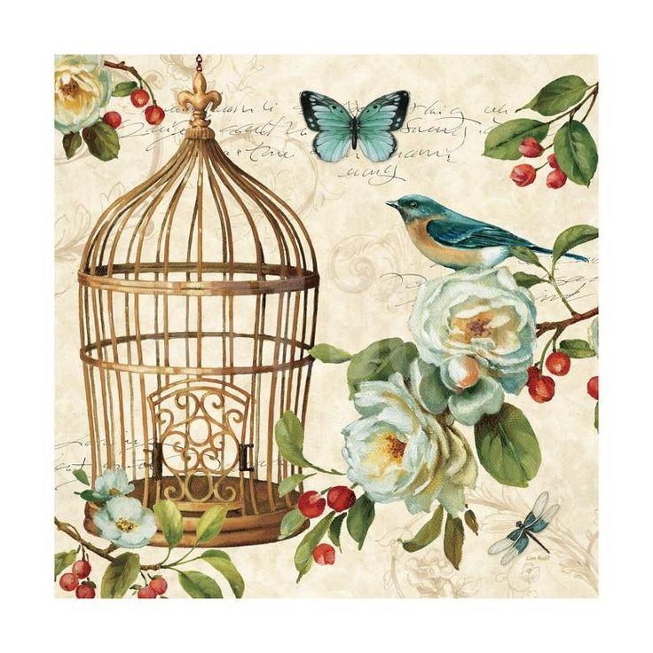 Free as a Bird II Art Print by Lisa Audit at Art.com