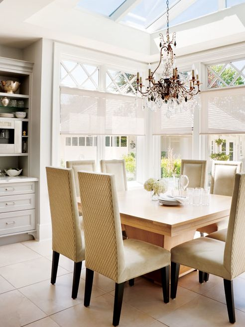Love the skylights over the dining room table   Grey+Scout Style: PARISIAN TOWNHOUSE