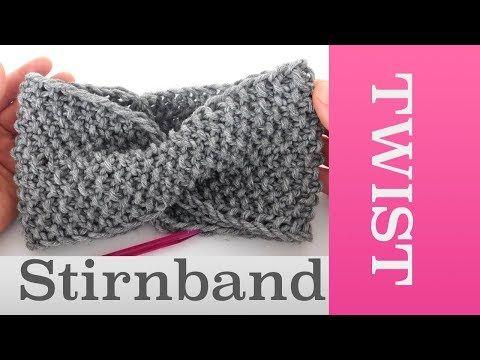 Twist Stirnband im Perlmuster