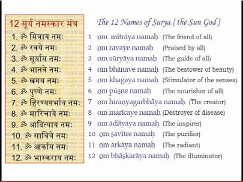 surya namaskar  mantra meditation  living yoga  pinterest