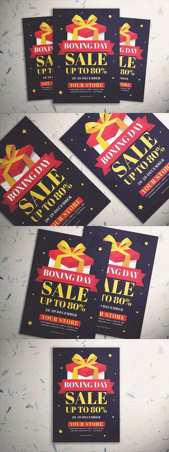 Boxing Day Sale Flyer Vol.02