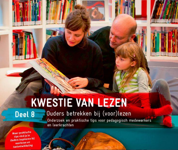 Kwestie van Lezen - Deel 8 - Ouders betrekken bij (voor)lezen