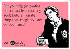 sometimes you just have to pull up your big girl panties - Google zoeken