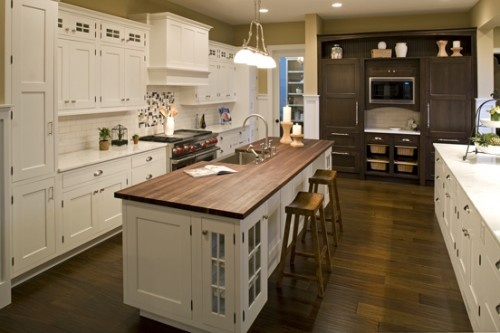 Long narrow island kitchens pinterest for Kitchen designs for long narrow kitchens