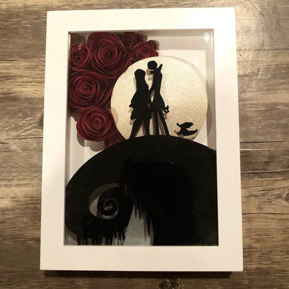 Nightmare Before Christmas Shadow Box