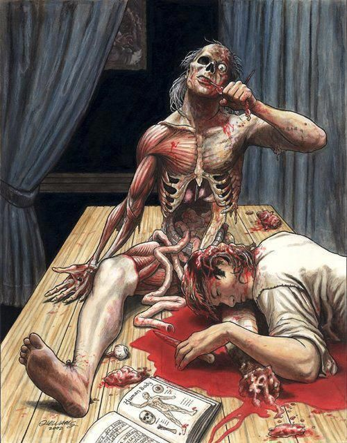 Medical school, the WORST place to be when the zombie apocalypse begins.