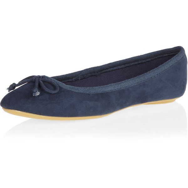 Blue bow ballet shoes (1.790 RUB) ❤ liked on Polyvore featuring shoes, flats, blue, ballet flat shoes, ballet flats, blue ballet shoes, blue bow flats and blue ballet flats