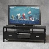 "Sutton Black Plasma 54"" TV Stand"