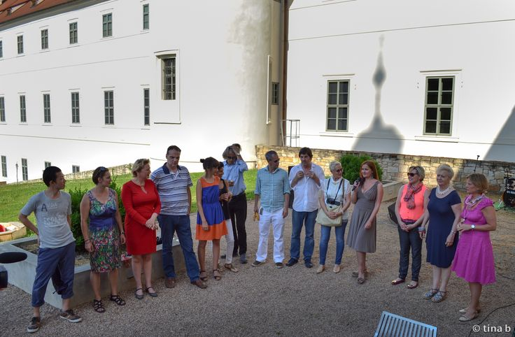 All the artists and curators of TINA B 2013 in Kutná Hora