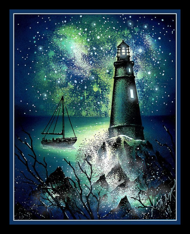 Card | General | Stampscapes | Lighthouse