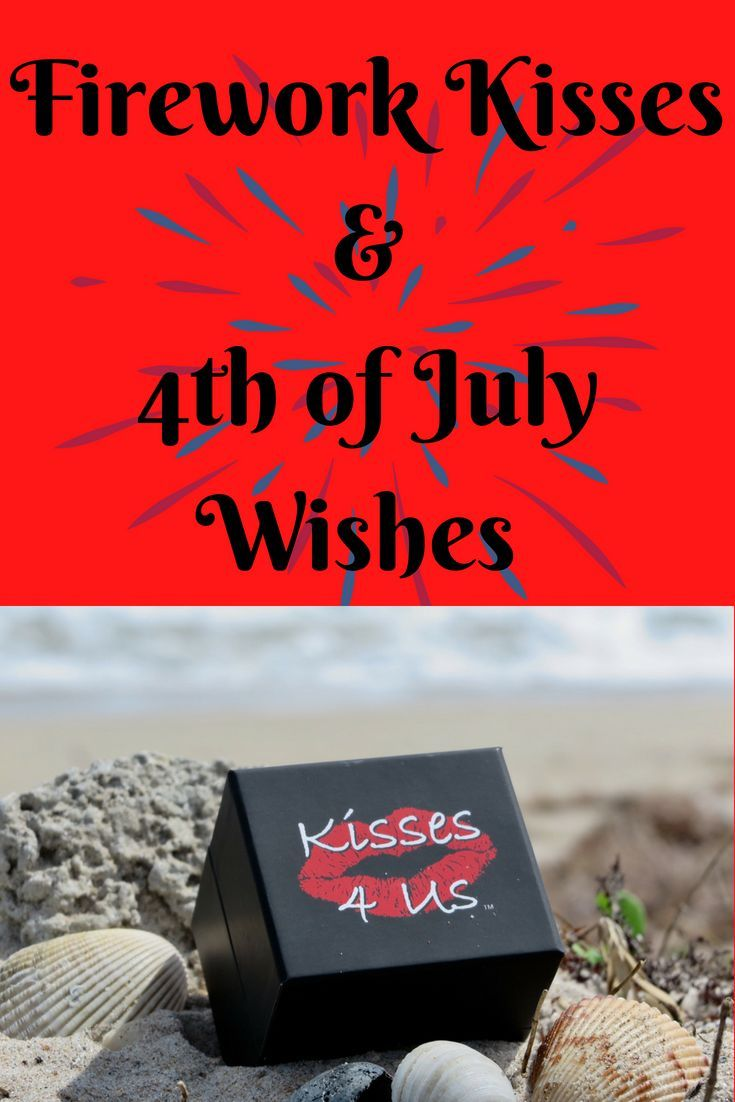 Have fun with Kisses 4 Us this 4th of July and make your own