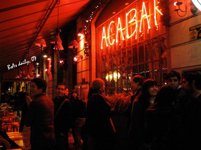 Acabar - Palermo, Buenos Aires, Aregentina