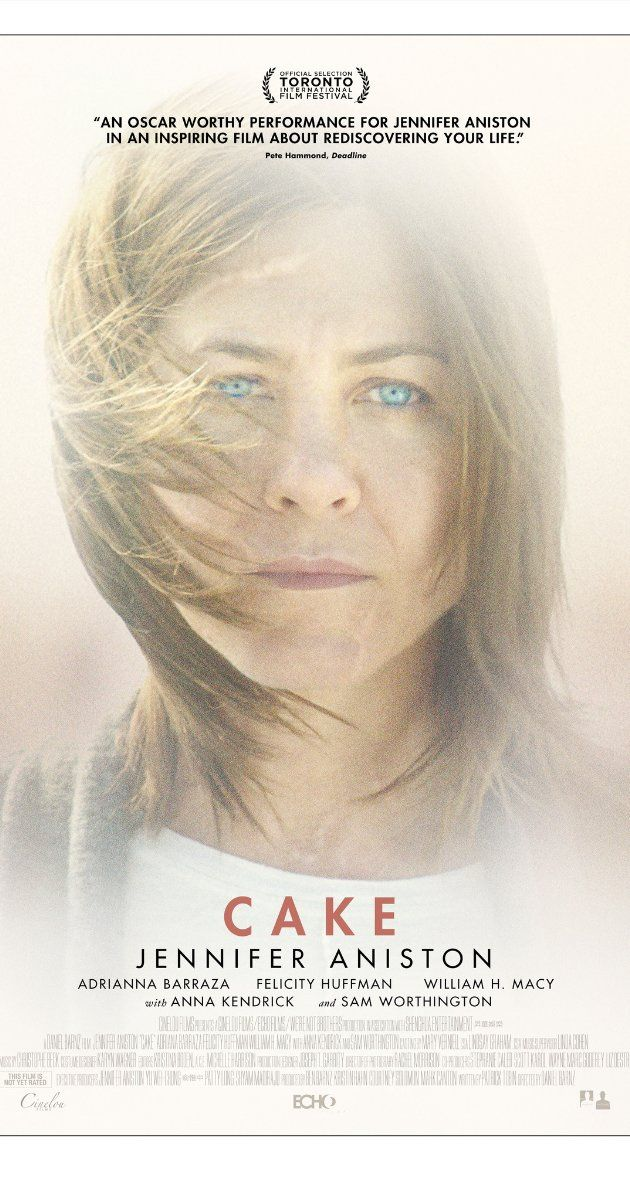 Directed by Daniel Barnz.  With Jennifer Aniston, Anna Kendrick, Britt Robertson, Sam Worthington. Claire initiates a dubious relationship with a widower while confronting fantastical hallucinations of his dead wife.
