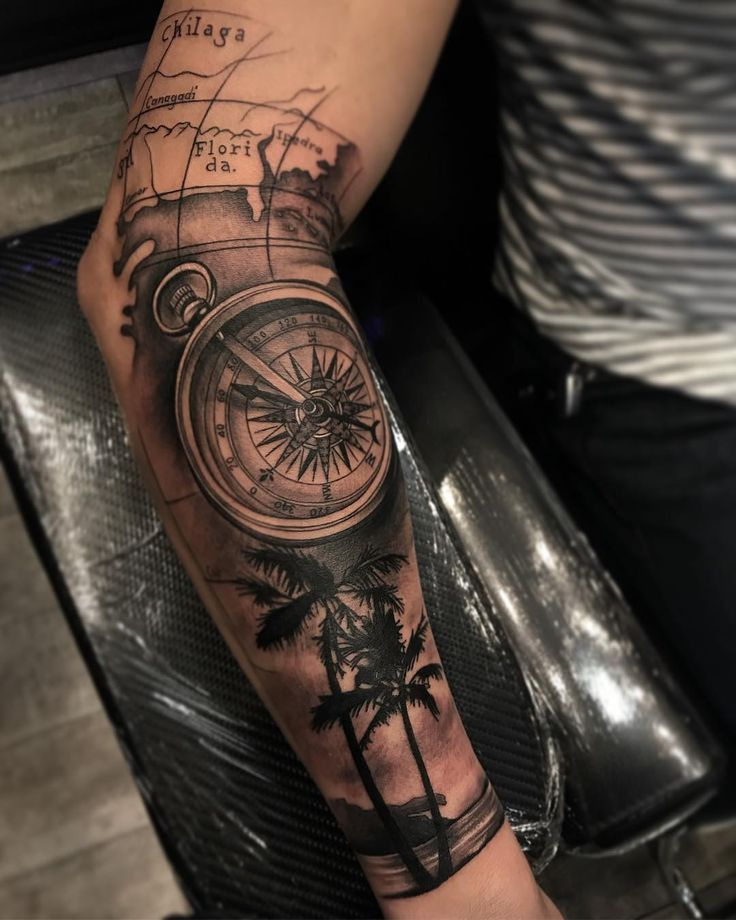 Start of a full sleeve. Thank you for looking 🙏… – #full #map #sleeve #start