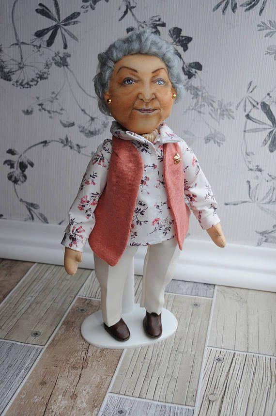 Personalized fabric doll selfie cloth doll rag stuffed doll