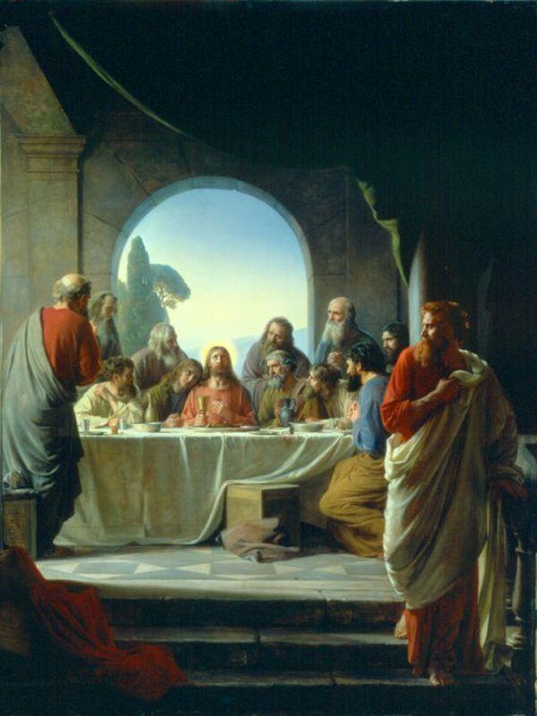 The Last Supper by Carl Heinrich Bloch