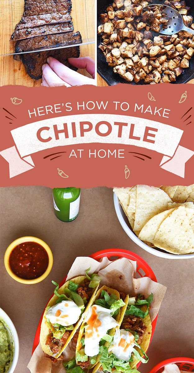 Here's How To Make Every Meat On The Chipotle Menu
