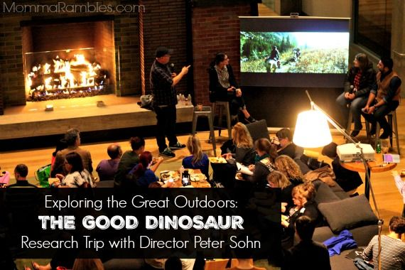 Exploring the Great Outdoors: THE GOOD DINOSAUR Research Trip with Director Peter Sohn ~ #GoodDinoEvent
