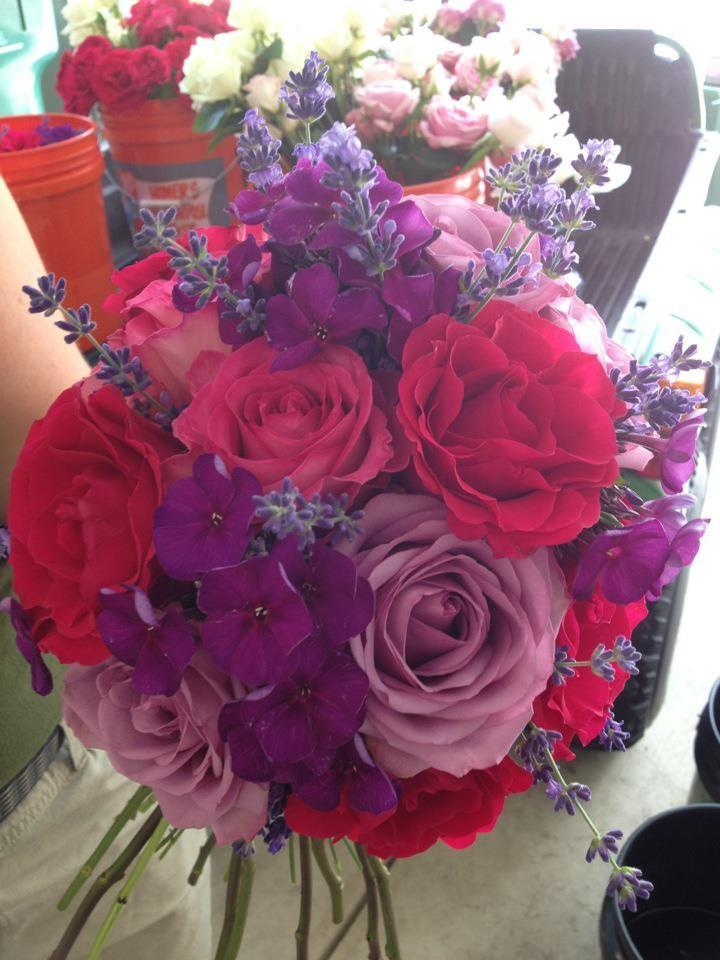 Roses, phlox, & lavender