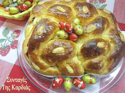 Tsoureki ( Greek Easter Bread) - Τσουρέκι γεμιστό και τσουρέκι σιροπιαστό