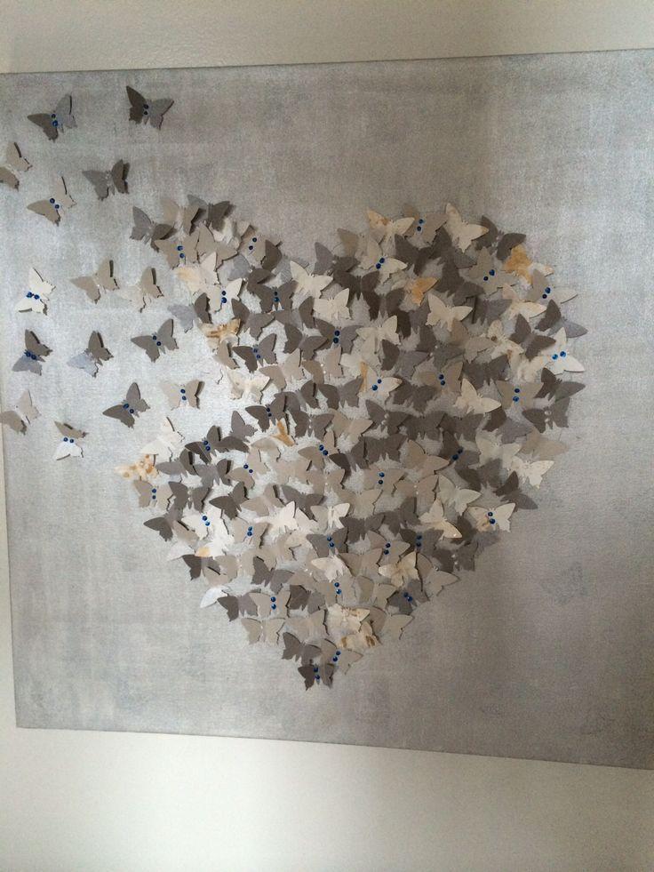 Meer dan 1000 idee n over 3d schilderij op pinterest reusachtige bloemen papieren bloem muur - Kamer schilderij ideeen ...