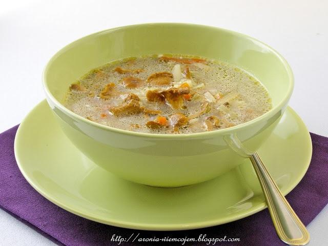 Wiem co jem - Zupa kurkowa z ryżem