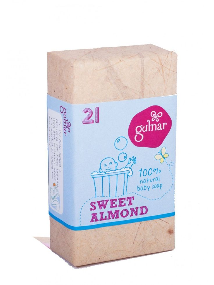 Sweet Almond Baby Soap Buy here: http://www.vegalyfe.com/sweet-almond-baby-soap.html