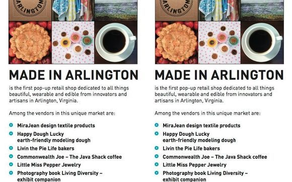 In two weeks Saturday 12/10 at 11am - Made In Arlington