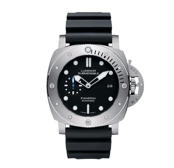 Panerai Luminor Submersible 1950 3 Days Automatic Titanio  #panerai #watchtime #divewatch #paneraiwatches #watchnerd