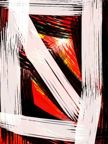 "Saatchi Art Artist unik unik; New Media, ""white cut"" #art"