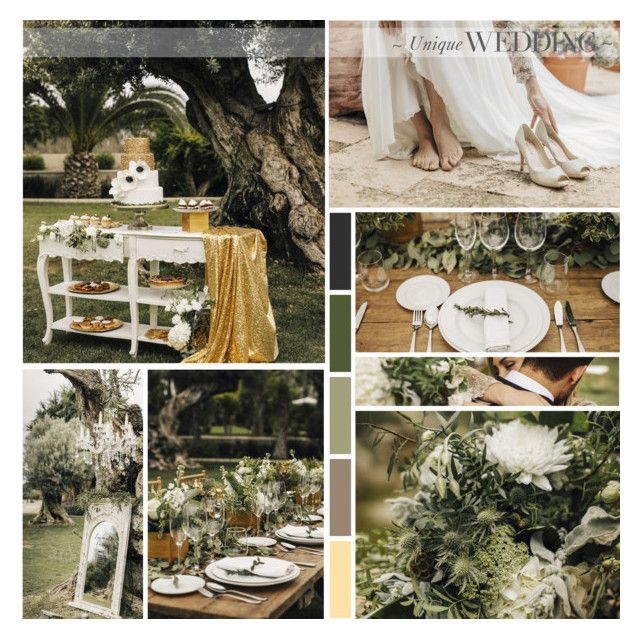 Elegant Grecian Styled Bridal Inspiration by anna-nemesis on Polyvore featuring art and wedding