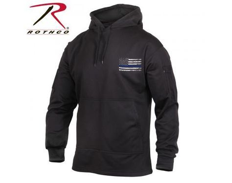 Thin Blue Line Concealed Carry Hoodie   Vermont's Barre Army Navy Store