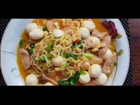 Resep Seblak Komplit Pakai Mie Instan Gampang Dan Rasa Bisa Diadu Resep Mie Sosis