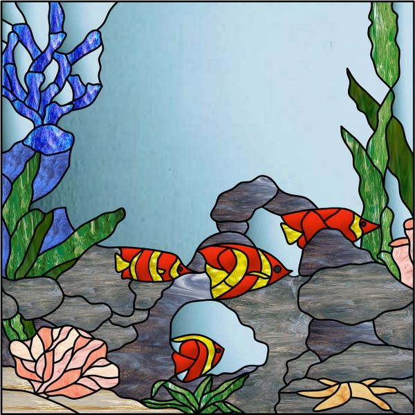 767 Best Stain Glass Fish Images On Pinterest Stained
