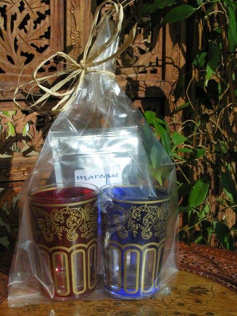 Tea glasses and mint tea set. http://www.maroque.co.uk/showitem.aspx?id=ENT06432&p=00738