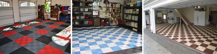 Garage Flooring Options with Ribtrax - Swisstrax Flooring