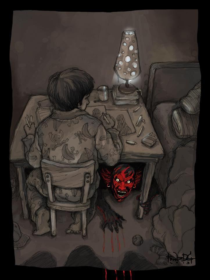 Horror Movie Art : Insidious 2010.